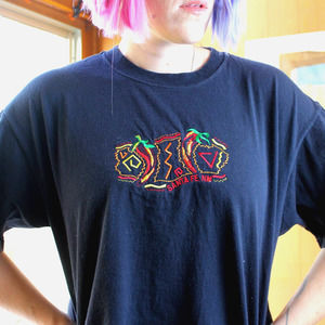 Spicy Santa Fe Embroidered T-Shirt